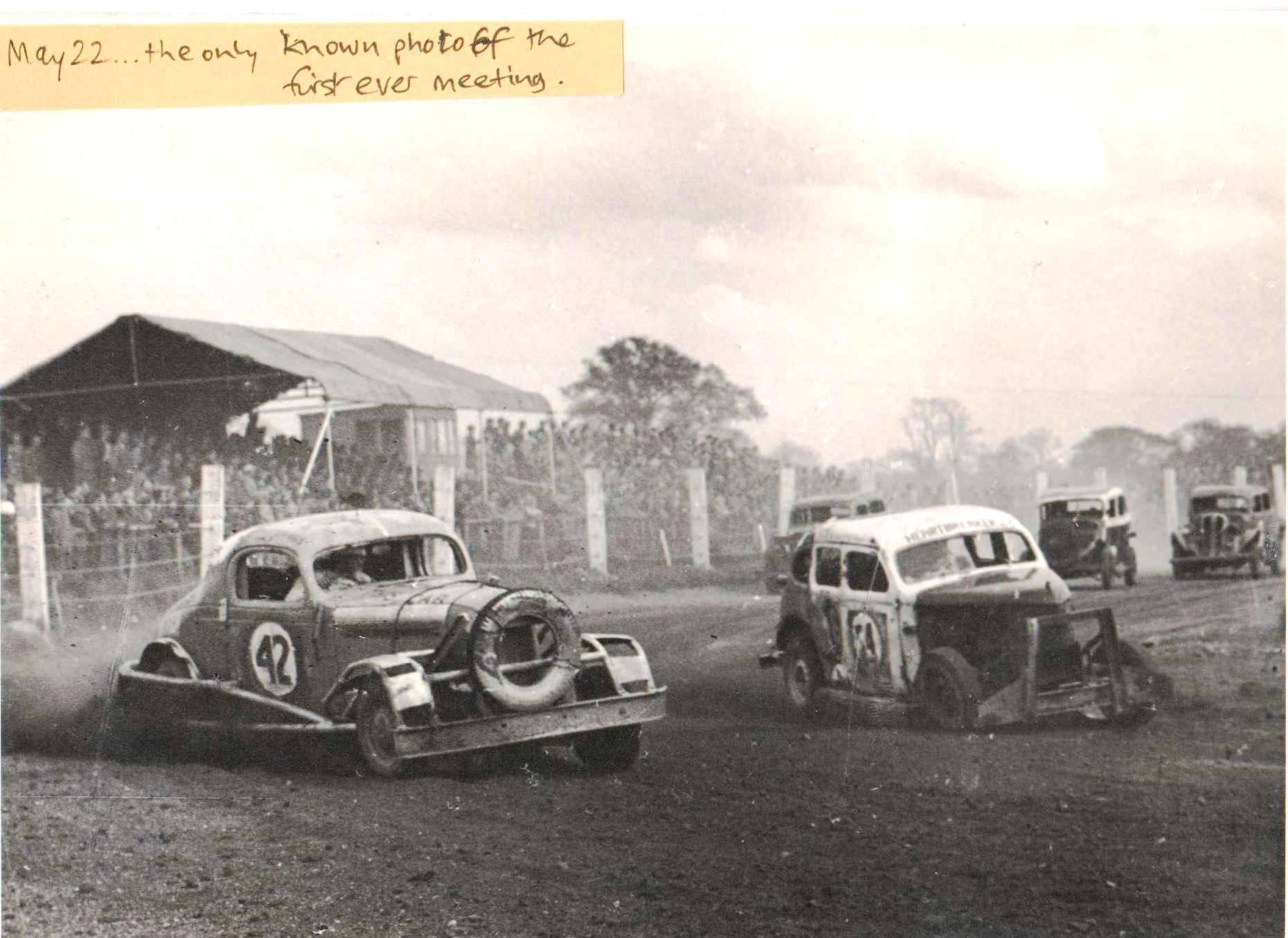 Stock-Car Racing in Britain - The Early Days