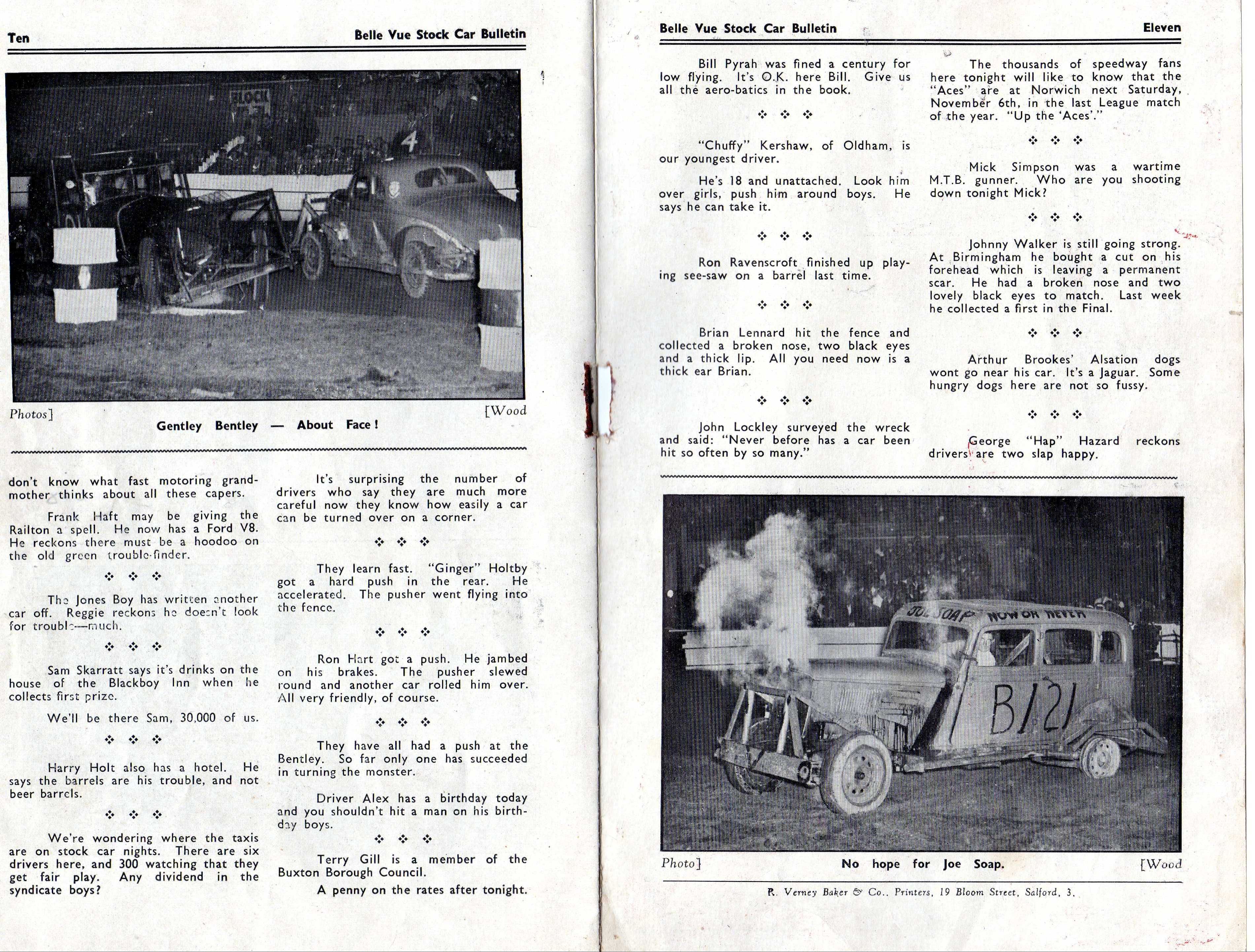 Stock car racing in britain 1950s 1970s next two inside pages fandeluxe Images