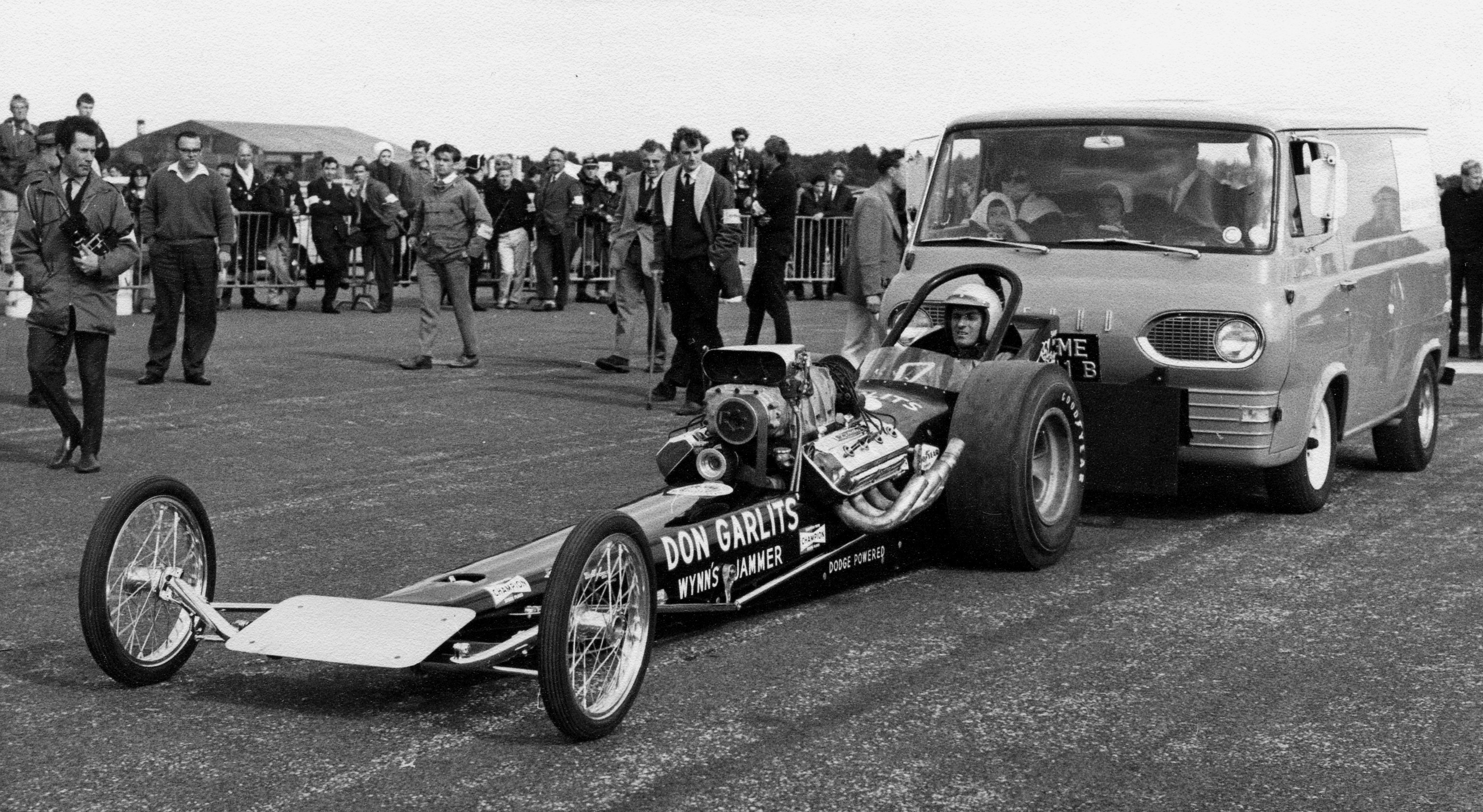 Stock-Car Racing in Britain - Early British Drag Racing