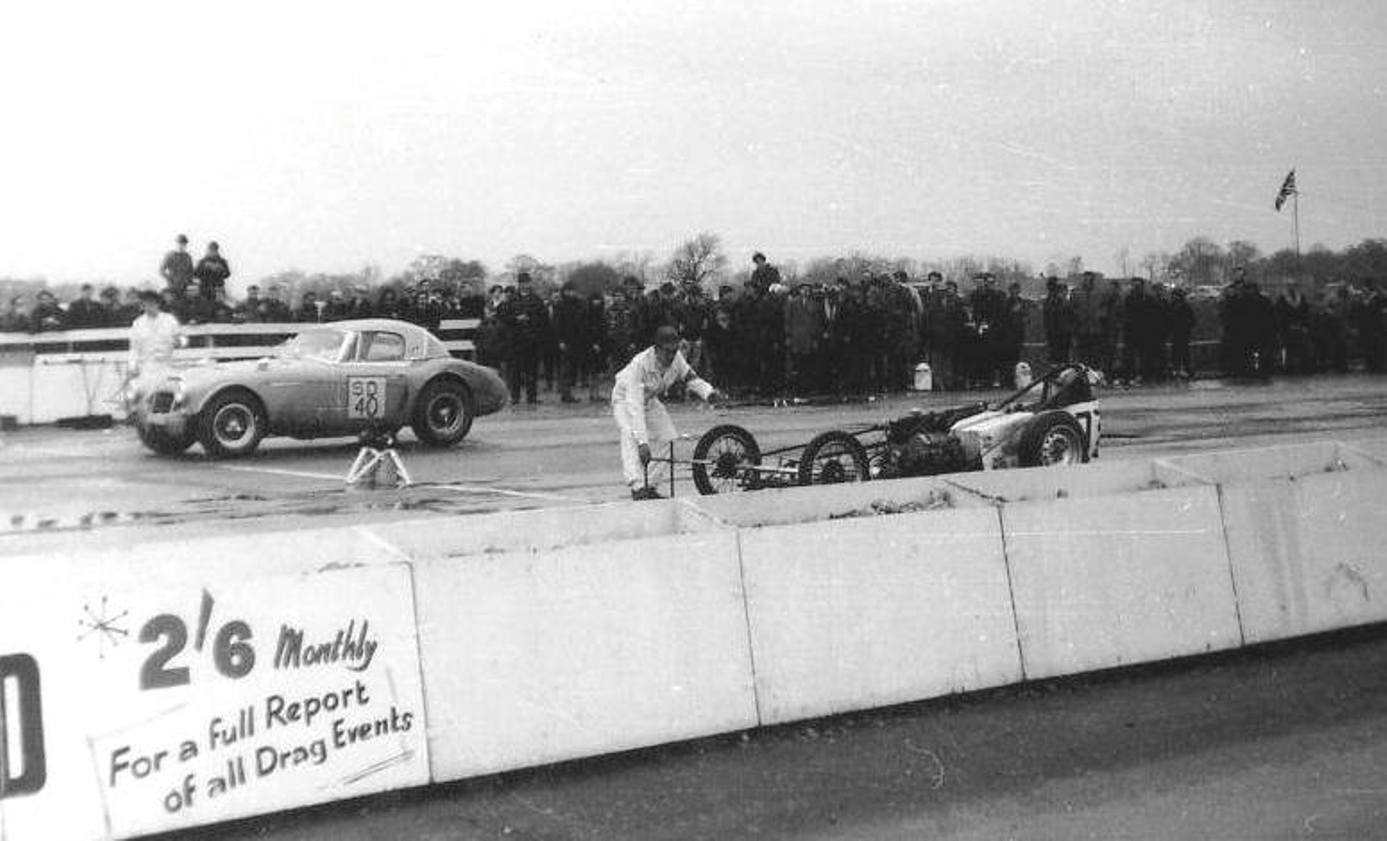 Stock-Car Racing in Britain - Early British Drag Racing