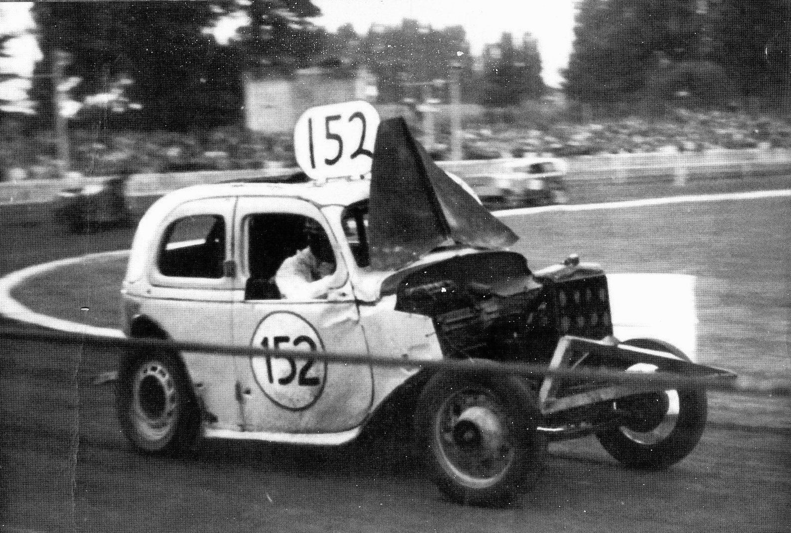 Stock-Car Racing in Britain - Some Hot Rods